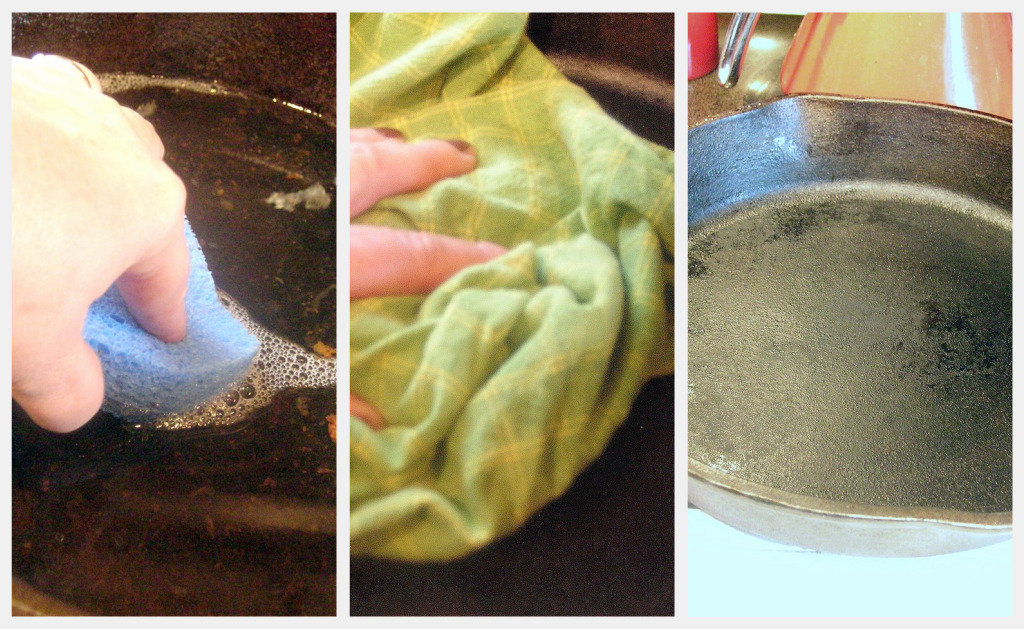 How To Season And Clean A Cast Iron Skillet Dishin Dishes